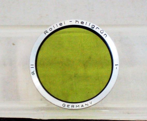 Filtro Rollei Verde Amarelo R Ii