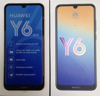 Huawei Y6 2019 32gb 6.9 32gb 13mp Selfies 8mp Sellado Tda