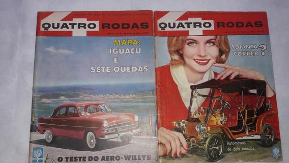 Revista 4 Rodas Nº 19 E 20 De 1962
