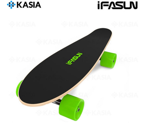 Skate Eléctrico Kasia Ifasun Corto Motor 450watts 25km/h
