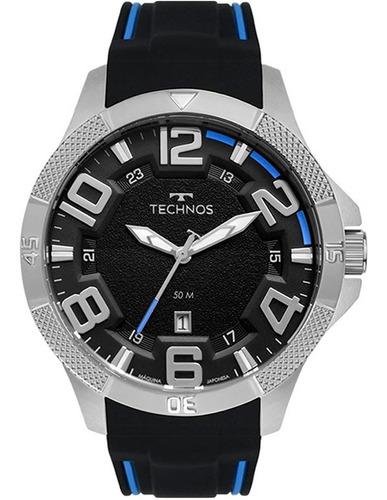 Relógio Masculino Technos  2117lcd/8p Nf-e Original Garantia