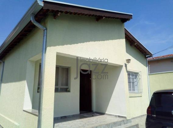 Extensa Casa Com 4 Dormitórios À Venda, 200 M² Por R$ 610.000 - Taquaral - Campinas/sp - Ca5245