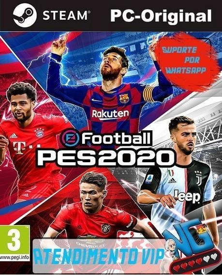 Pes 20 Efootball /pc Modo Online E Offline