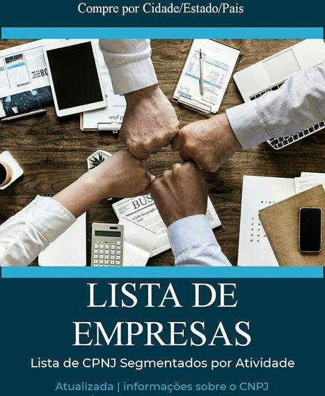 Lista De Empresas Município De São Vicente De Minas 2020