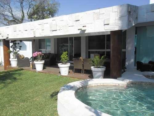 Casa Sola En Lomas De La Selva / Cuernavaca - Ber-43-cs