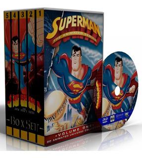Dvd Superman: A Série Animada - Completo + Filmes