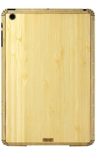 Tostada De Madera De Bambu Y Cubierta De Palo Para iPad Mini