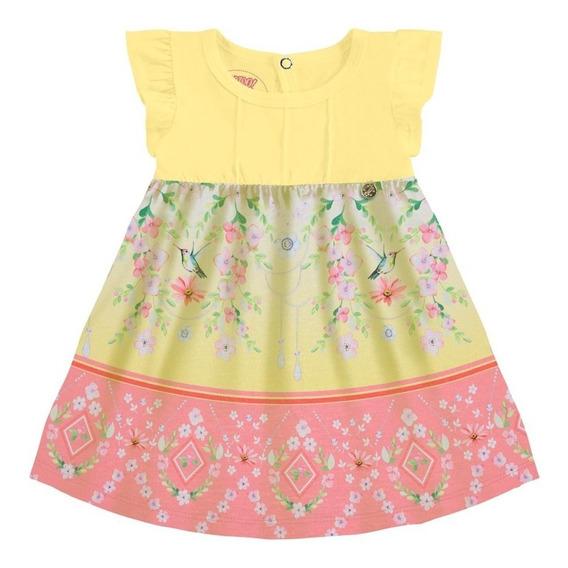 Vestido Verano Beba Niña Flores