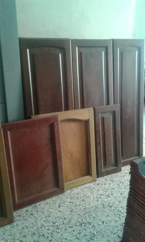 Imagen 1 de 7 de Puertas Para Gabinetes Y Despensas Caoba, Cedro Y Roble