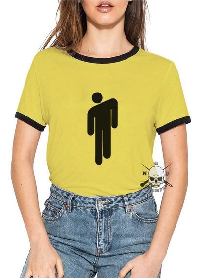 Remeras Ringer Billie Eilish Logo Dont Smile At Me Y Mas!