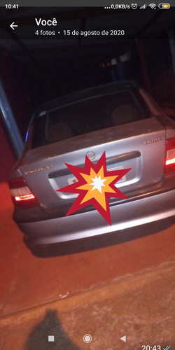 Chevrolet Vectra Prata