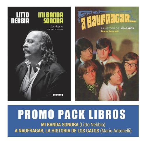 Pack Libros Nebbia - Mi Banda Sonora + A Naufragar
