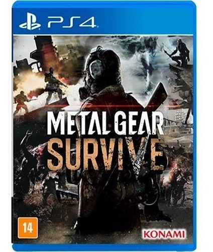 Metal Gear Survive - Ps4 Midia Fisica Novo Lacrado