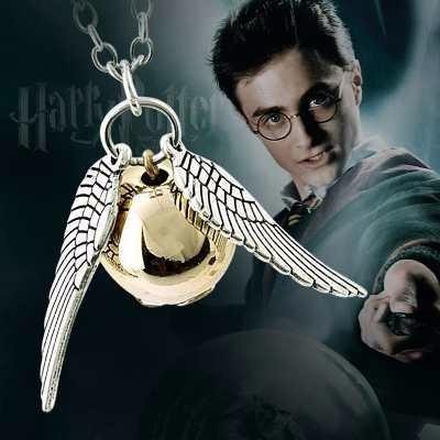Colar Cordão C/ Pingente Harry Potter Pomo Frete Barato