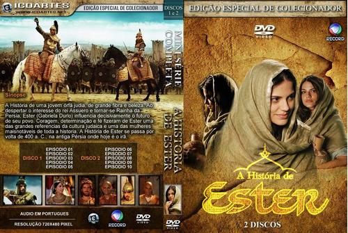 Dvd A Historia De Ester Completa Digital | Mercado Livre