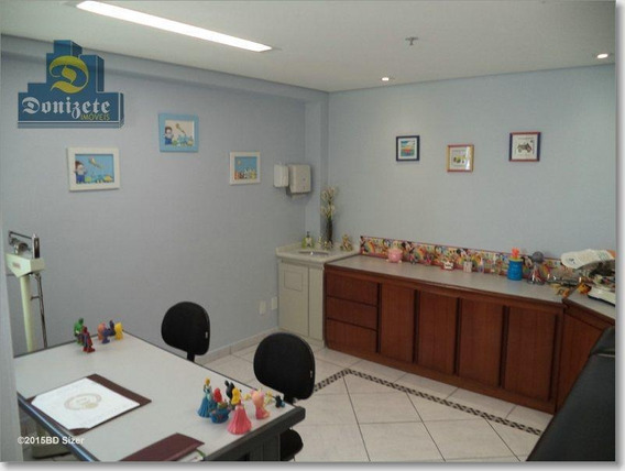 Sala À Venda, 38 M² Por R$ 230.000,00 - Paraíso - Santo André/sp - Sa0250