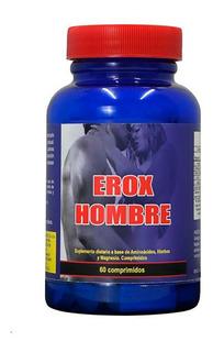 Erox Hombre + Rendimiento Vigor Vigorizante - Salud Sexual
