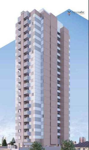 Apartamento À Venda, 48 M² Por R$ 285.000,00 - Vila Scarpelli - Santo André/sp - Ap1425