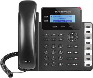 Gxp1628 Lcd Grandstream - Telefone Ip 2 Contas Sip Na Caixa Lacrado C/12 Meses Garantia