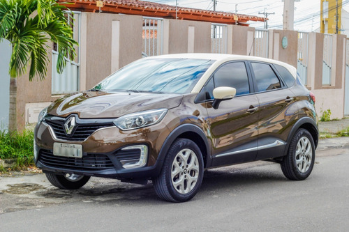 Renault Captur 2018 1.6 16v Life Sce X-tronic 5p