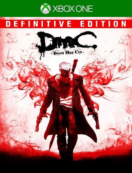Devil May Cry Dmc Xbox One - 100% Original (25 Dígitos)