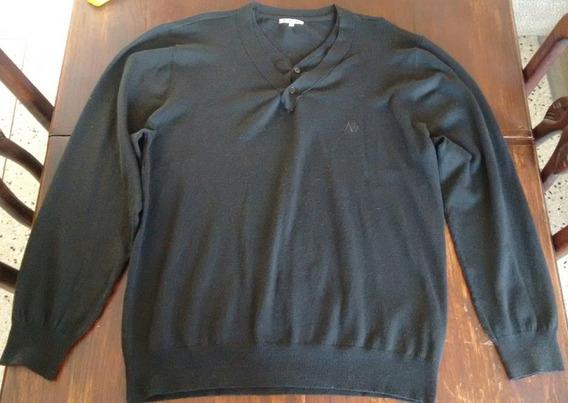 Sweater Aeropostal Talla Xl Color Negro