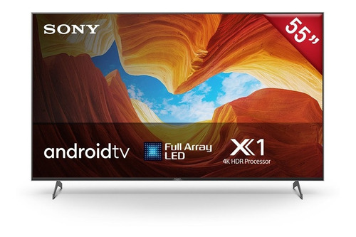 Televisor 4k Hdr Sony 55' Android Tv Full Array  Xbr-55x907h