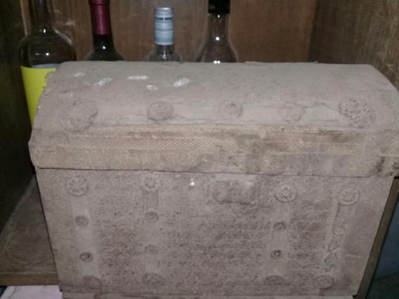 Antiguedades . Baul Antiguo De 1850