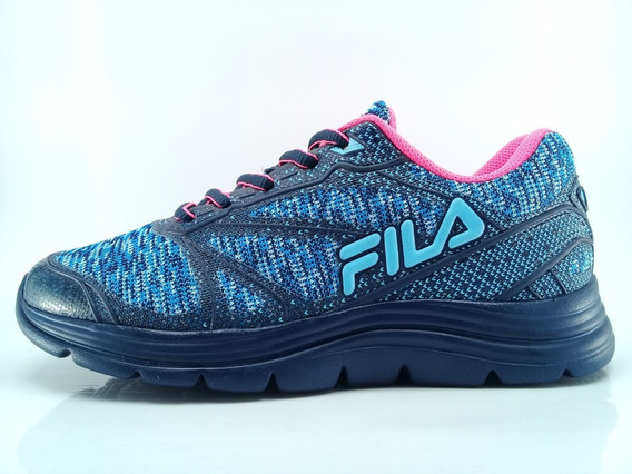 Zapatillas Fila Niño Illusion Azl/rsa Envios Caba Y Bs As