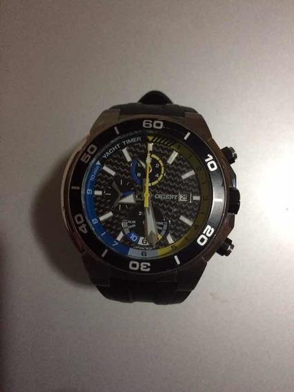 Relógio Masculino Orient Yacth Timer Usado