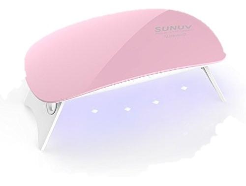 Lampara Mini Sun Led Uv Para Uñas 6watt