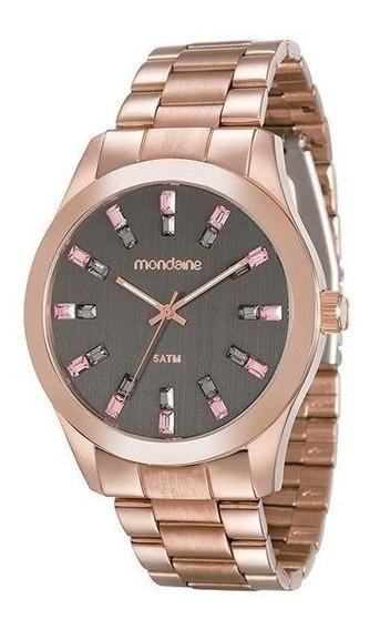 Relógio Mondaine Feminino Casual Rose 78663lpmvra7
