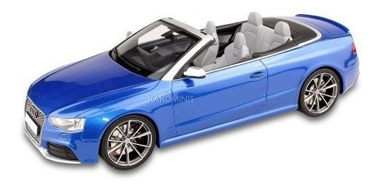 Miniatura Audi Rs5 Cabriolet 1:18 Gt-spirit