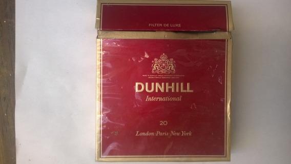 Caja De Cigarrillo Dunhill De Inglaterra