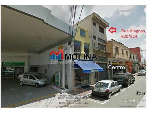 Sala Comercial Para Locação Centro Scs - 4087