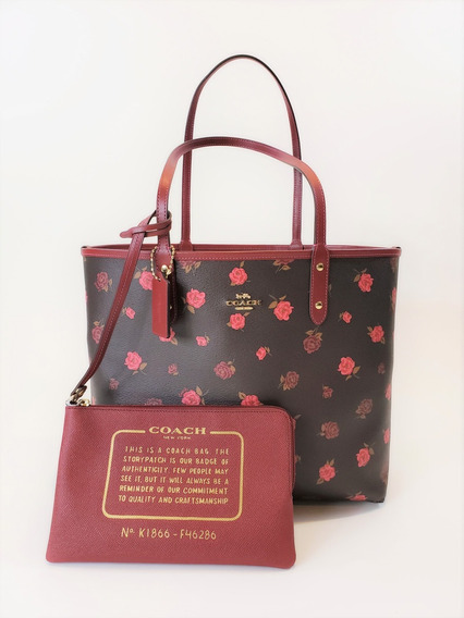 Bolsa Coach F46286 Reversible City Tote