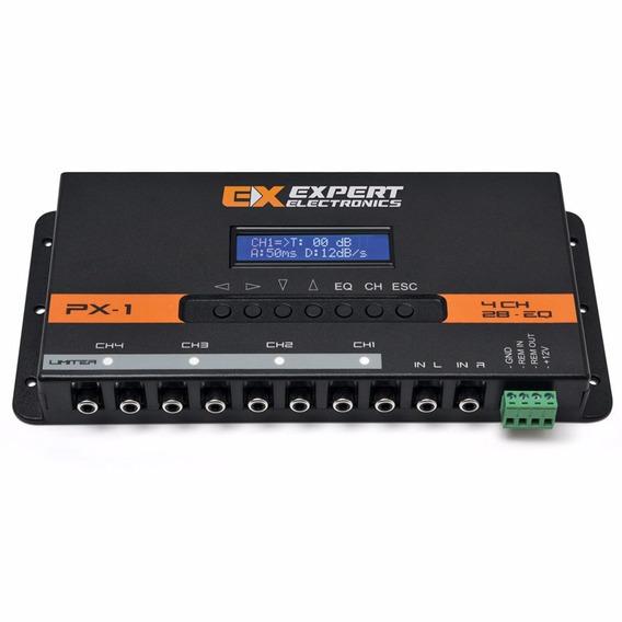 Crossover Processador Equalizador Banda Expert Px1