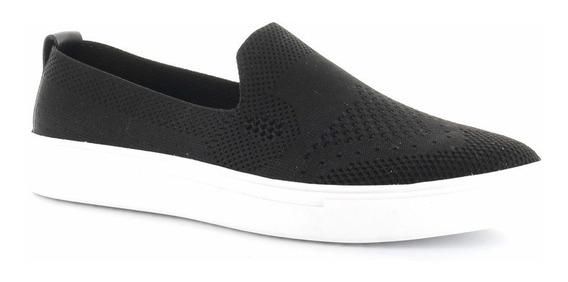 Sneaker Tejido De Elastico