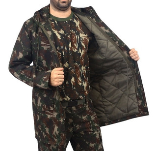 Japona Oficial Exército Brasileiro Frio Blusa Campanha Eb