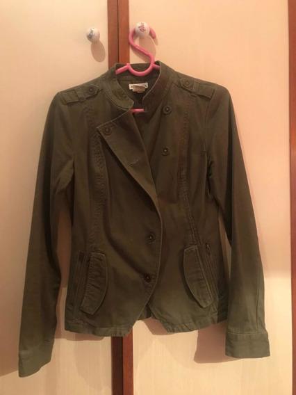 Casaco Blusa Frio Verde Exército Feminina Jaqueta Importada