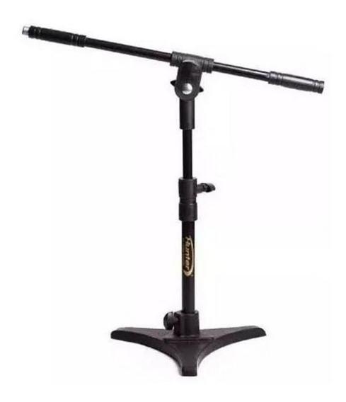 Pedestal Para Microfonar Bumbo Amplificador Cajon Pes De Ferro Torelli Hpm55 + Cachimbo De Brinde