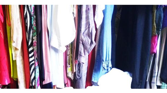 Lote De Roupas Para Bazar Kit Brecho 50 Peças De Primeira