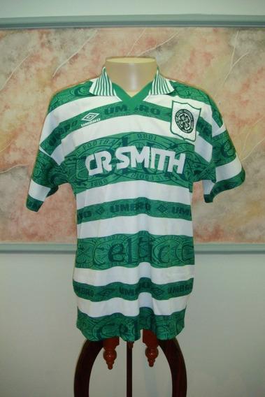 Camisa Futebol Celtic Glasgow Escocia Umbro Antiga 241