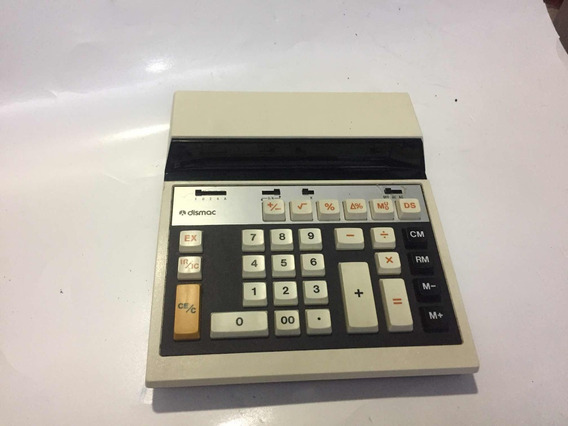 Calculadora De Mesa Dismac 12 M Usada Defeito