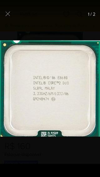 Core 2 Duo E8600 3.33ghz Lga 775