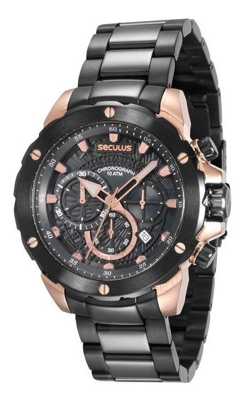 Relógio Seculus 13017gpsvia2