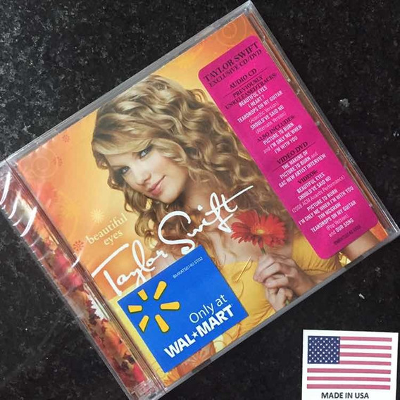 Cd Taylor Swift Beautiful Eyes Walmart Exclusivo Lacrado
