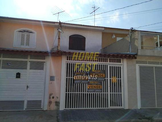 Sobrado Com 2 Dormitórios À Venda, 75 M² Por R$ 369.000,00 - Vila Augusta - Guarulhos/sp - So0574
