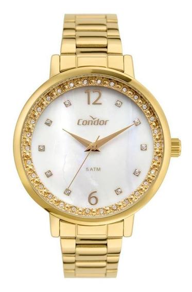 Relógio Feminino Condor Co2036muj/k4b 40mm Aço Dourado