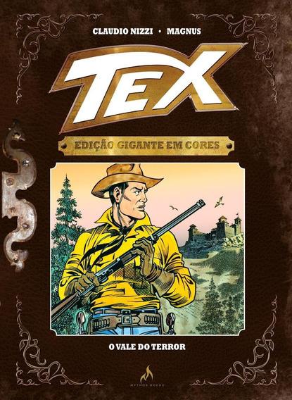 Tex - O Vale Do Terror - Vol. 9 - Edição Gigante Em Cores